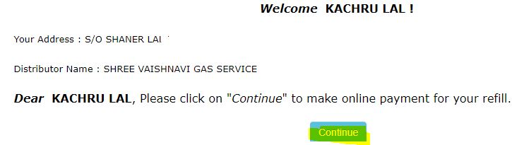 Bharat Gas Online Booking Without Login