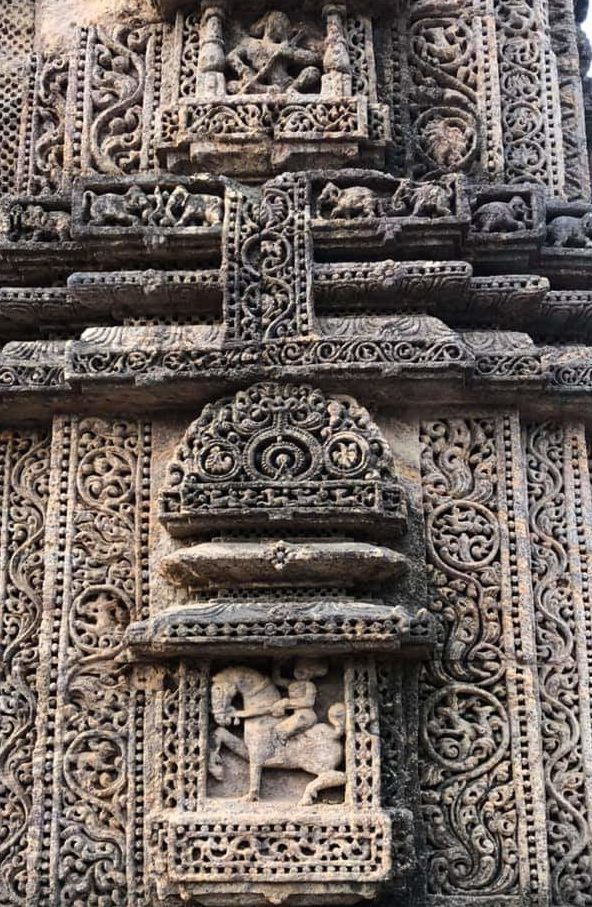 कोणार्क सूर्य मंदिर वास्तुकला